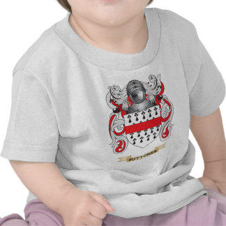 Buttoner Coat of Arms (Family Crest) Tees