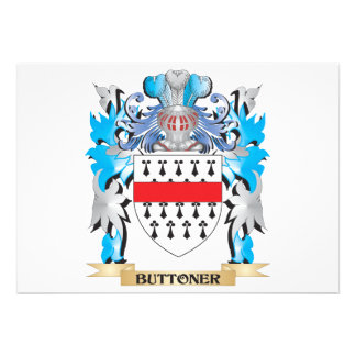 Buttoner Coat of Arms Invitations