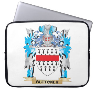 Buttoner Coat of Arms Laptop Computer Sleeve