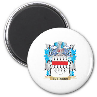 Buttoner Coat of Arms Magnets