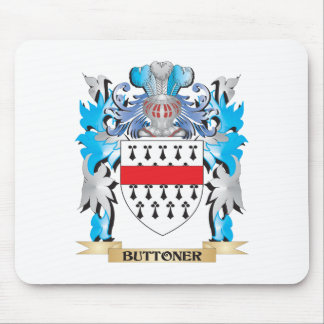 Buttoner Coat of Arms Mousepads