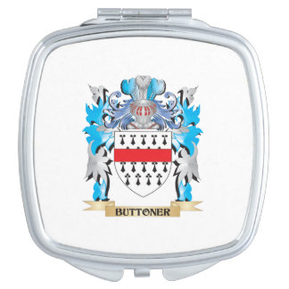 Buttoner Coat of Arms Makeup Mirrors
