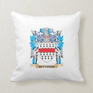 Buttoner Coat of Arms Pillows