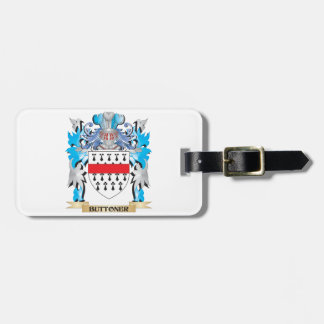 Buttoner Coat of Arms Tag For Bags