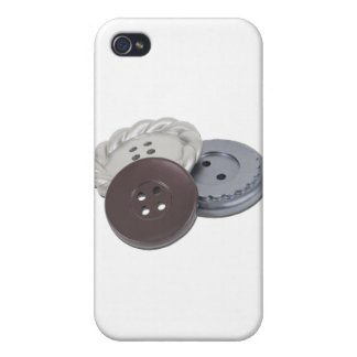 Buttons011011 iPhone 4 Covers