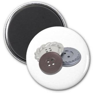 Buttons011011 Fridge Magnets