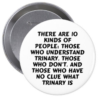 Buttons4) There are 10 kinds...trinary (huge) 10 Cm Round Badge