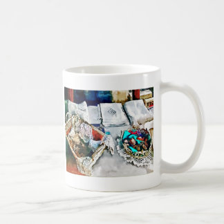 Buttons and Lace Coffee Mug