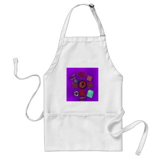 Buttons Adult Apron