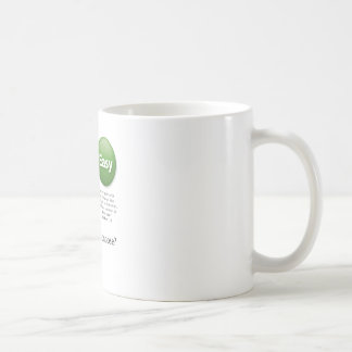 Buttons Basic White Mug
