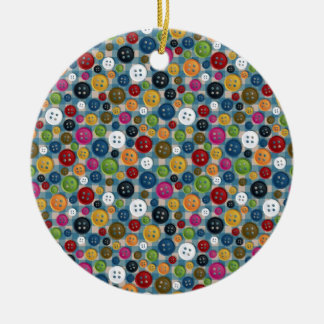 Buttons Christmas Ornament