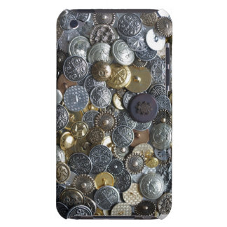 Buttons collection iPod touch cover