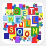 BUTTONS ~ Get Well Sticker