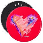 Buttons - Heart Felt