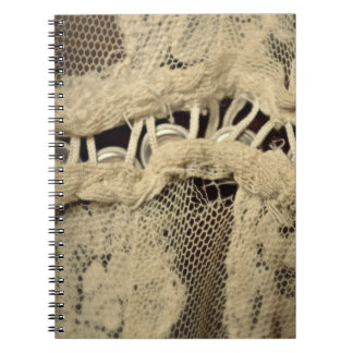 Buttons & Lace : Notebook