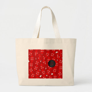 Buttons Large Tote Bag