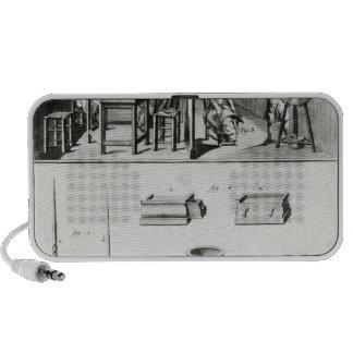 Buttons maker & lace maker portable speaker