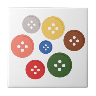 Buttons Small Square Tile