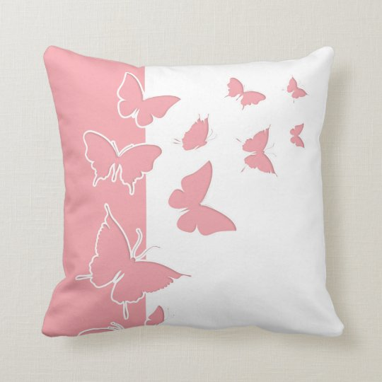Buttrfly Nature Throw Pillows