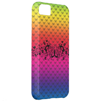 buttterfly rainbow iphone 5 vibe case cover iPhone 5C case