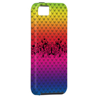 buttterfly rainbow iphone 5 vibe case cover tough iPhone 5 case