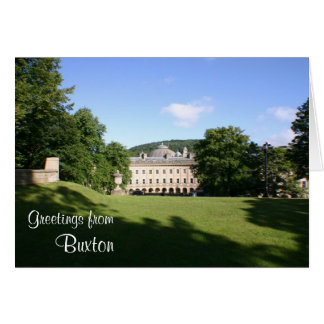 Buxton open greetings card