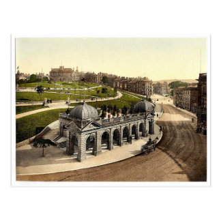 Buxton, pump room, Derbyshire, England rare Photoc Postcard