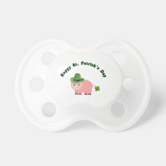 Buy a Cute Pig St Patricks Day Pacifier