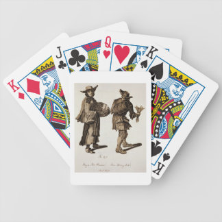 'Buy a new Almanac! Fine writing ink!', illustrati Poker Deck