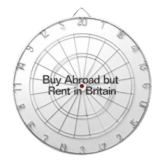 Buy Abroad but Rent in Britain Dartboards
