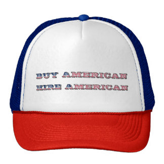Buy American Hire American Quote Trump Patriot Cap