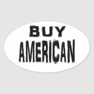 Buy American sticker