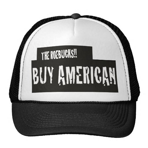 """BUY AMERICAN"" TRUCKER HAT"