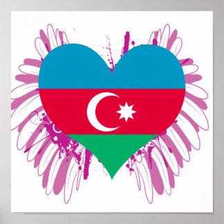 Buy Azerbaijan Flag Posters