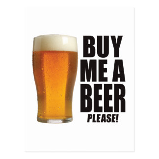 Buy Beer Postcard