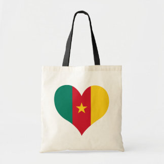 Buy Cameroon Flag Canvas Bags