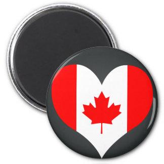 Buy Canada Flag 6 Cm Round Magnet