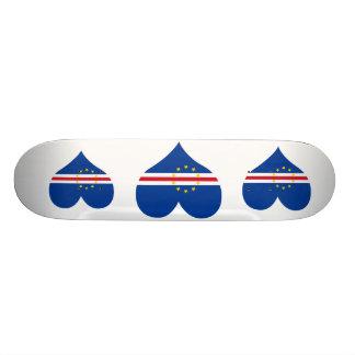 Buy Cape Verde Flag 21.3 Cm Mini Skateboard Deck