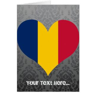 Buy Chad Flag Greeting Card