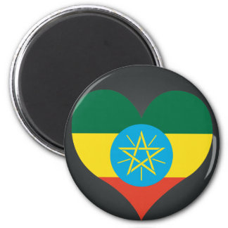 Buy Ethiopia Flag 6 Cm Round Magnet