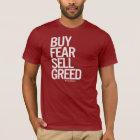 """Buy Fear, Sell Greed"" Men's Tee (Dark)"