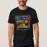 Buy Fresh, Buy Local Tee Shirts