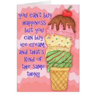 Buy Ice Cream Greeting Card