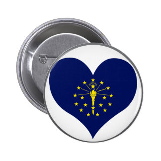 Buy Indiana Flag Button