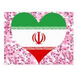 Buy Iran Flag Postcard