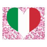 Buy Italy Flag Postcard