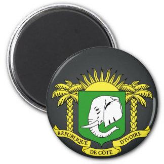 Buy Ivory Coast Flag 6 Cm Round Magnet