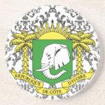 Buy Ivory Coast Flag Drink Coasters