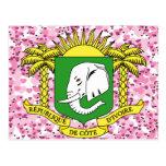 Buy Ivory Coast Flag Postcard