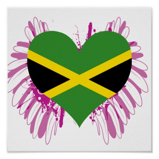 Buy Jamaica Flag Print
